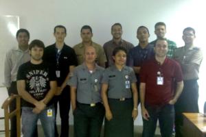 Foto treinamento Ministério da Defesa (Fevereiro/2011)
