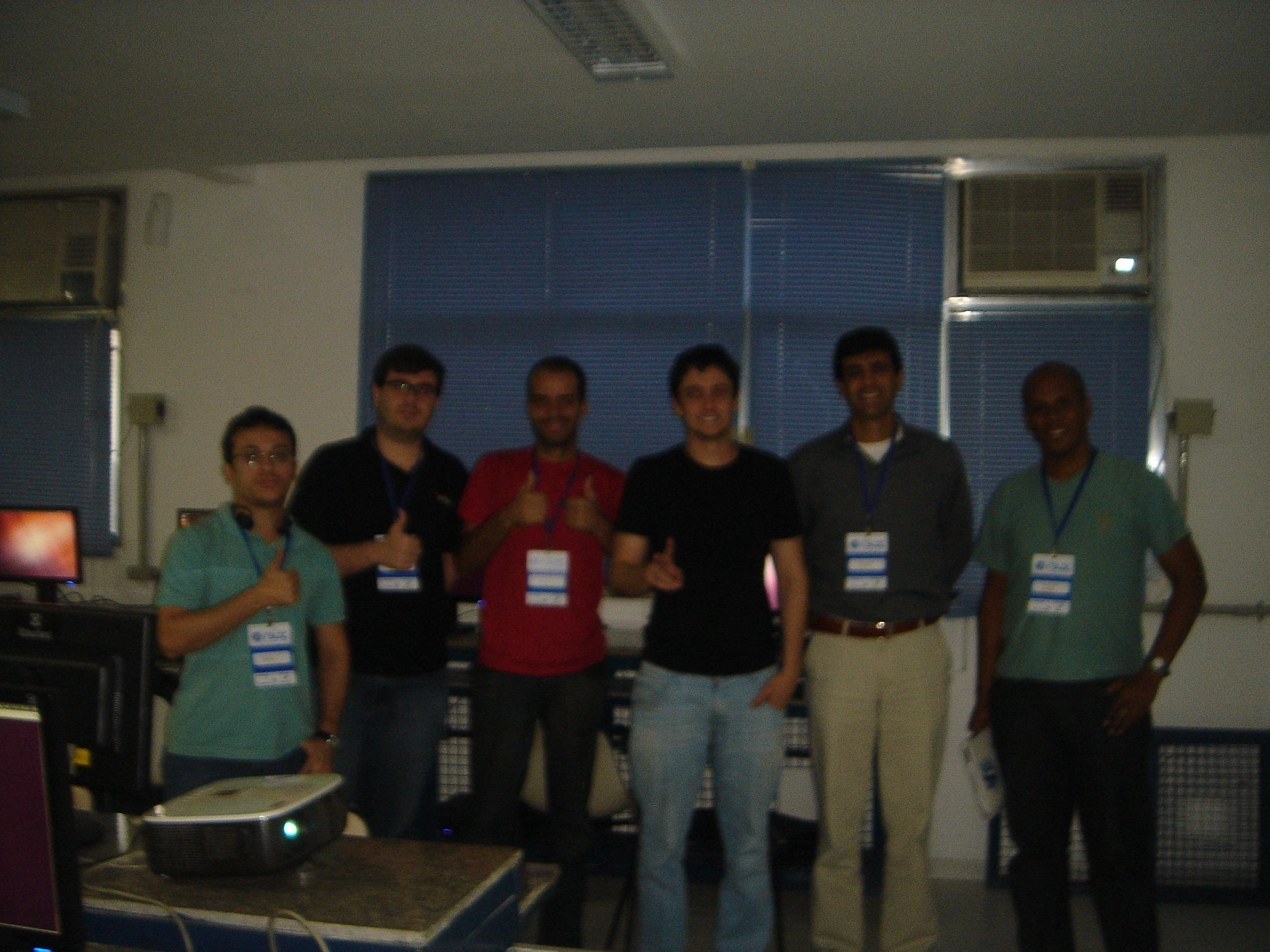 Foto Mini-curso Bacula no FSLDC 2012
