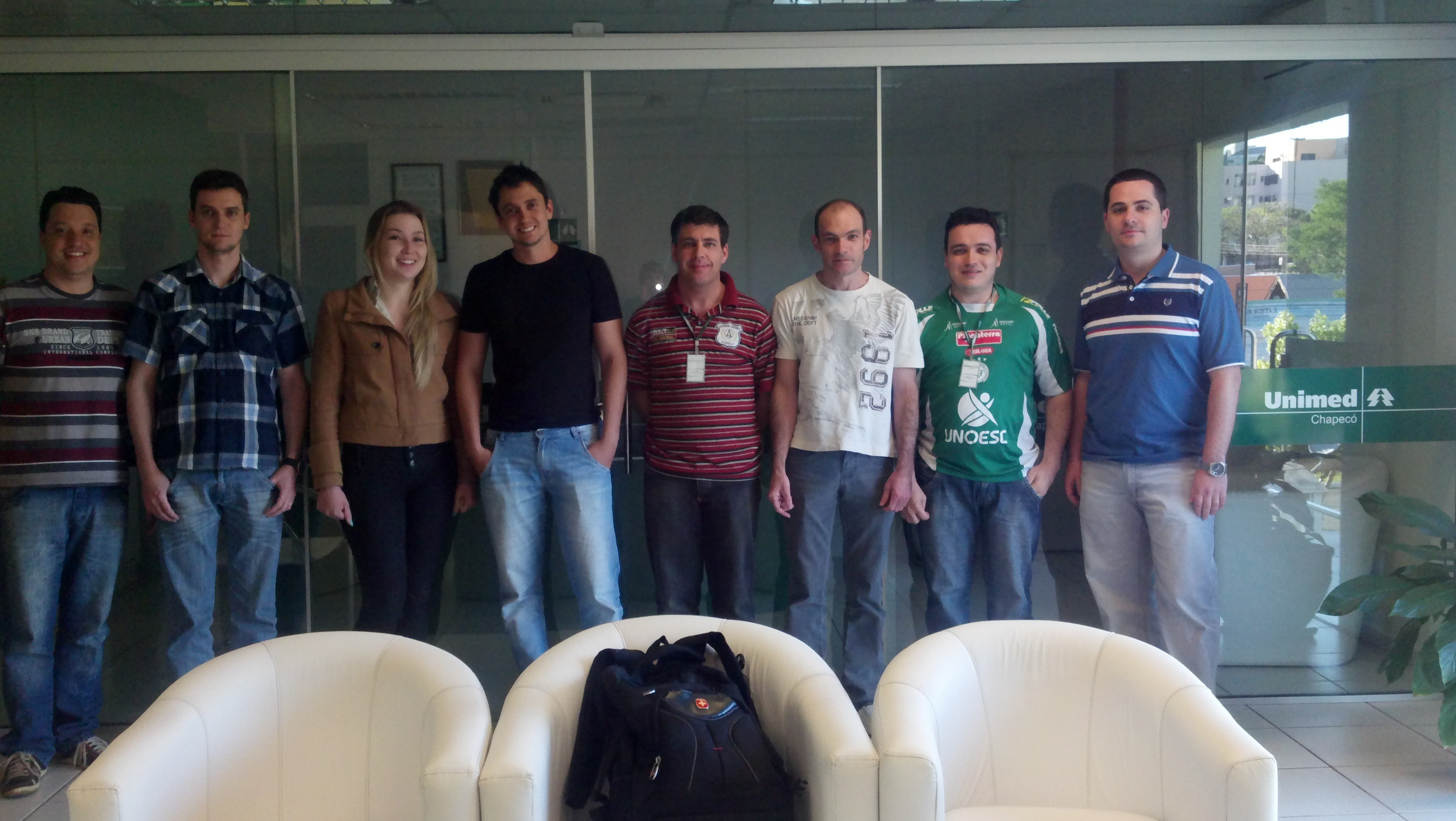 Treinamento Bacula Unimed Chapecó (Setembro / 2012)