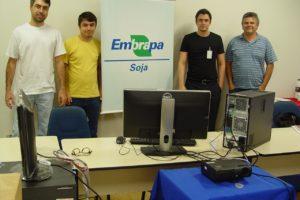 Foto Treinamento Bacula Embrapa – SOJA (Londrina – PR)