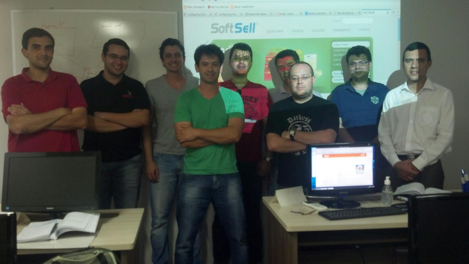 Treinamento SoftSell Curitiba – Janeiro 2013