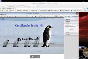 1º Aluno Certificado Bacula 101 – Final da 10ª Turma Bacula Telepresencial