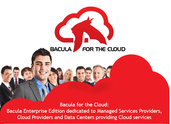 Bacula for the Cloud: Backup & Restore solution dedicated to the MSPs