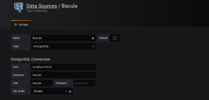 A Bacula Template for Grafana 2