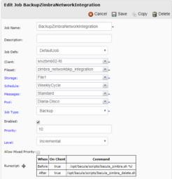 Backup Zimbra Edição Network com o Bacula 1