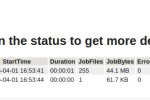 Jobs Summary Email Report – Perl Script by Davide Giunchi