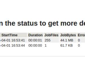 Relatório Sumário Jobs Bacula via Email Script Perl (Davide Giunchi)