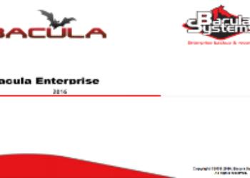 Presentación / Slides Bacula Enterprise 2018