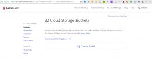 Plugin de almacenamiento en Nube Bacula Enterprise en la BackBlaze 1