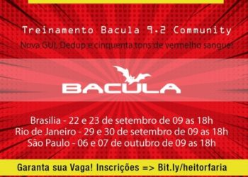 Cursos Bacula 9.2 Community Set/Out 2018