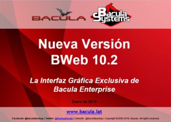 Nueva Versión BWeb 10.2
