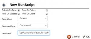 Plugin Recuperação Bare Metal Plugin Linux Bacula Enterprise - Guia Rápido 3