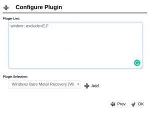 Plugin Recuperação Bare Metal Plugin Windows Bacula Enterprise - Guia Rápido 1