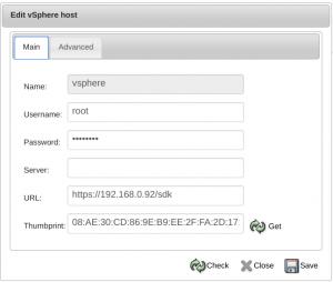 Integração VMware VSphere BWeb Bacula Enterprise – Guia Rápido 3