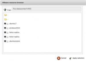 Integração VMware VSphere BWeb Bacula Enterprise – Guia Rápido 4