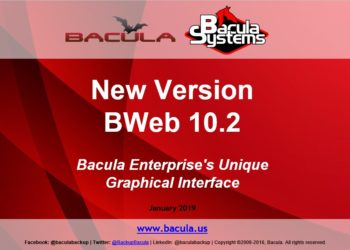 New BWeb 10.2 Version