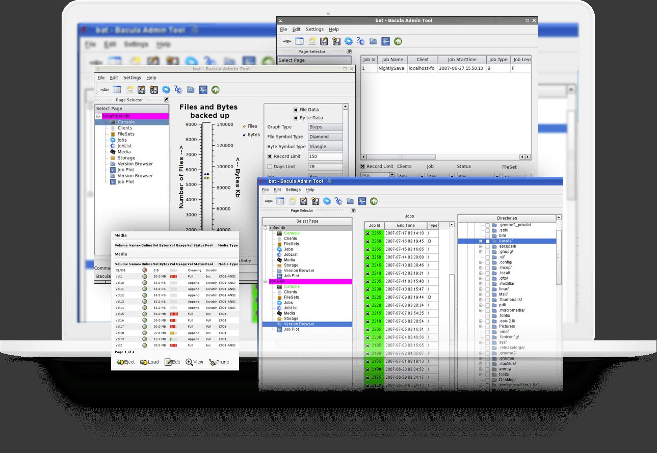 Facilidade e Rapidez no Gerenciamento dos Backups