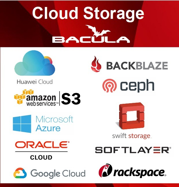 S3 Bacula Enterprise Cloud Backup Storage