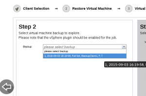VMware VSphere Granular Enterprise Bacula Restore Plugin Quick Guide 2