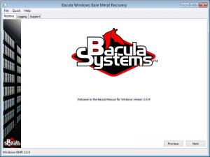 Plugin Recuperação Bare Metal Plugin Windows Bacula Enterprise - Guia Rápido 2