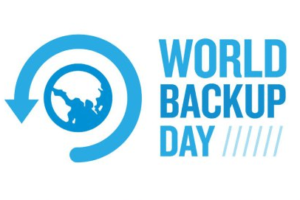 31st Mar is World Backup Day