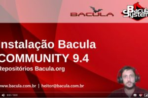 Vídeo: Instalação Bacula Community 9.4