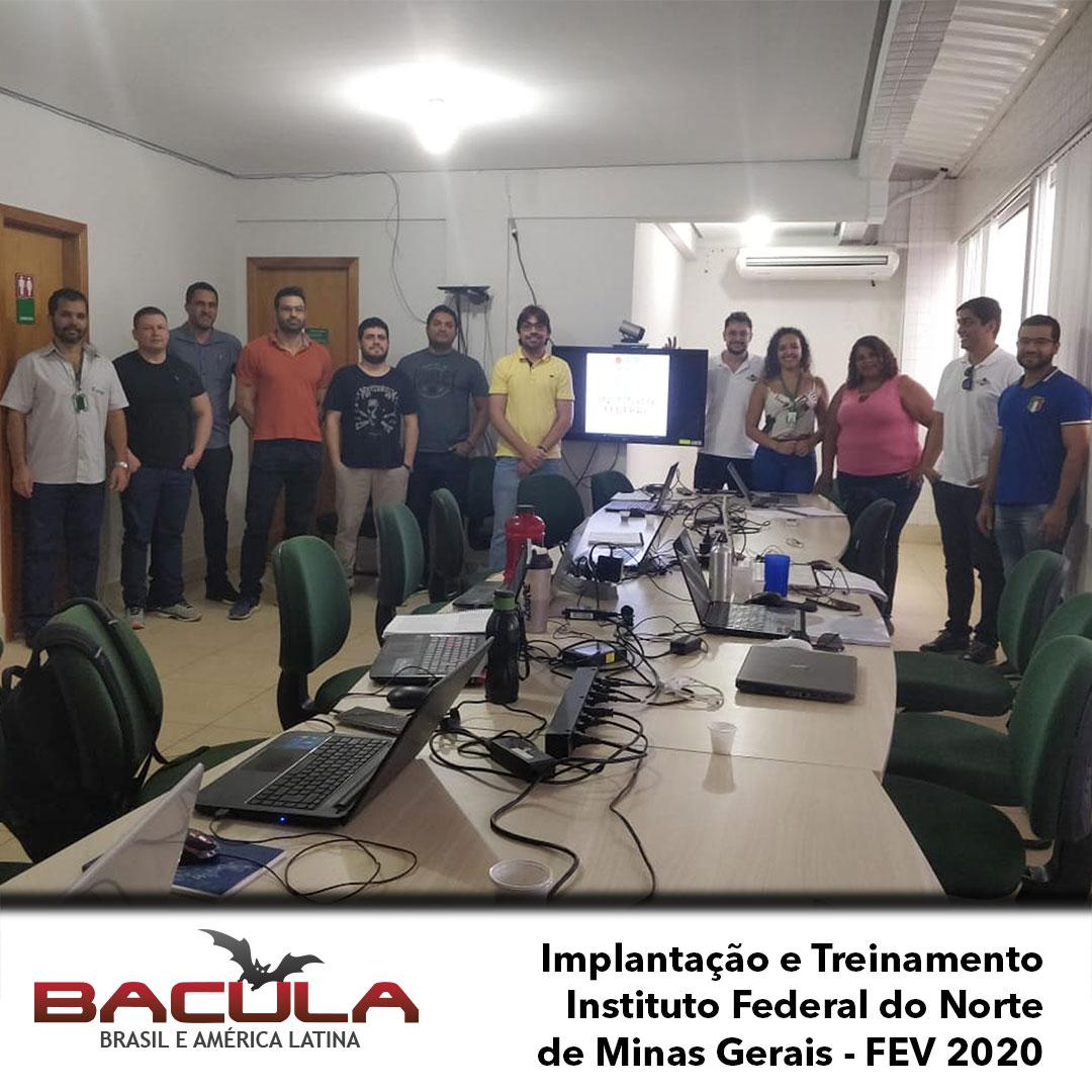 Implantação do Bacula Enterprise no Instituto Federal Norte de Minas