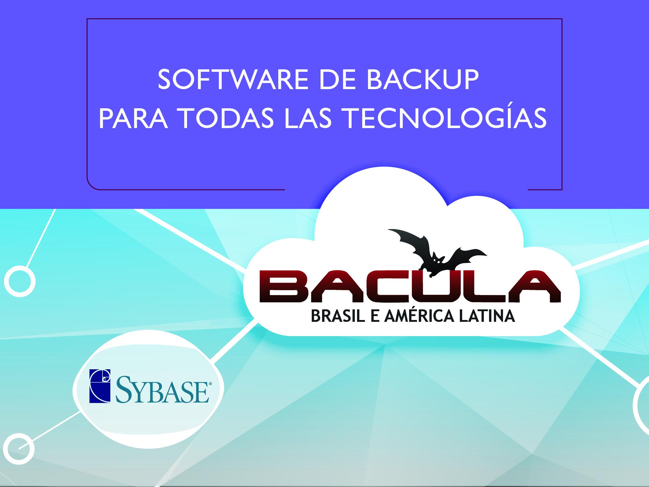 Plugin de Bacula Enterprise Sybase Adaptive Server Enterprise (ASE)