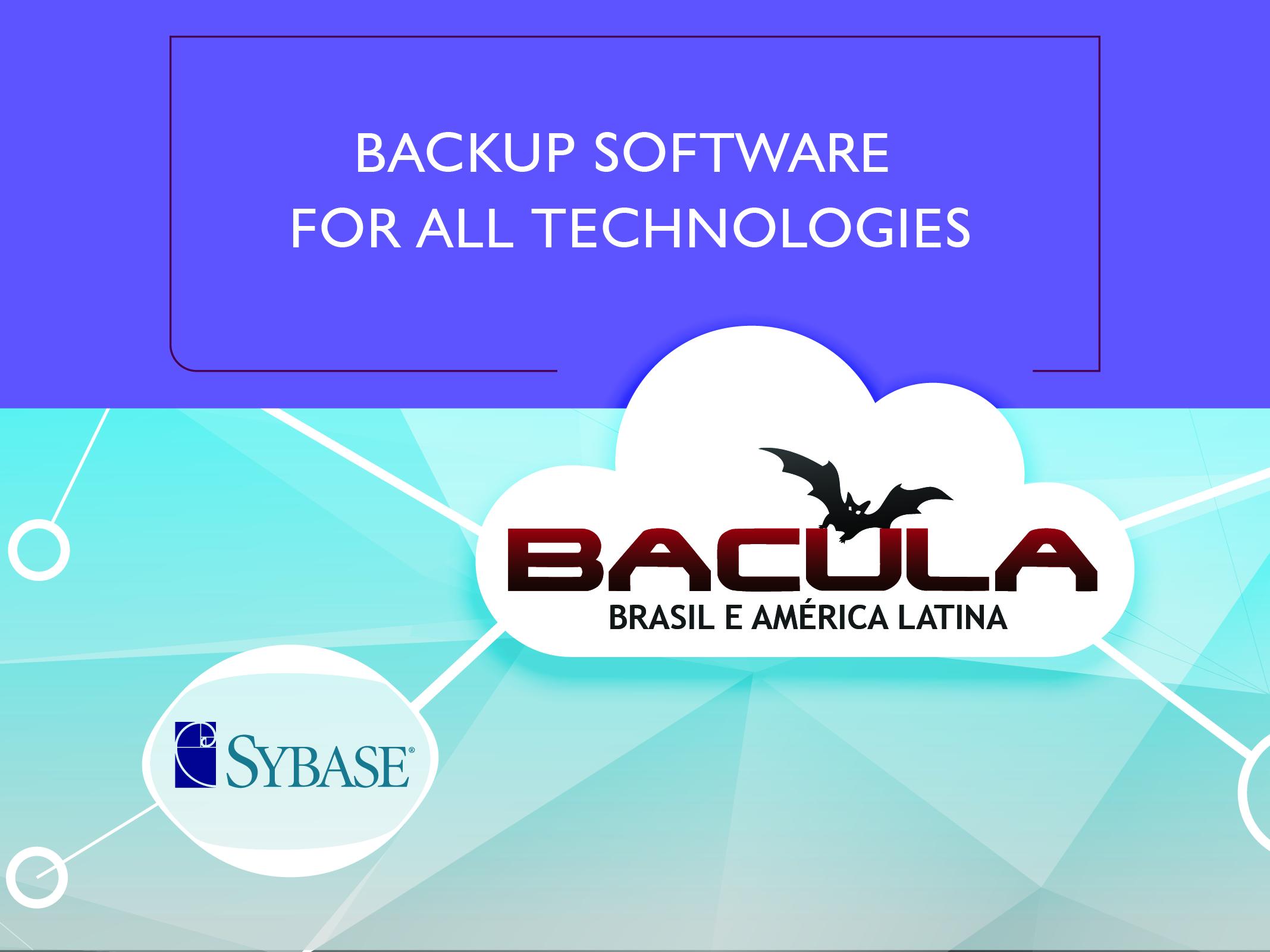 Bacula Enterprise Sybase Adaptive Server Enterprise (ASE) Plugin