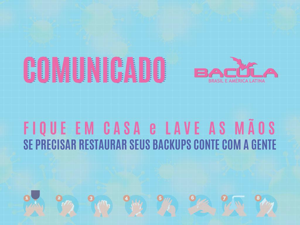 Comunicado Bacula Brasil e América Latina