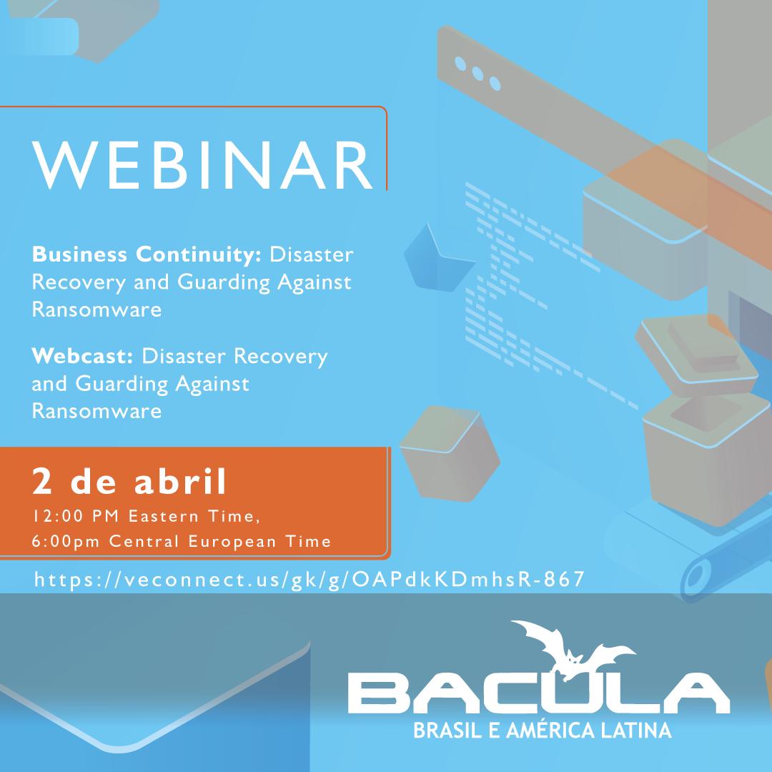 Mañana: Webcast de Bacula Systems